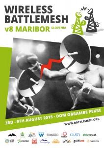 Poster zum Battlemesh v8