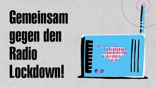 Gemeinsam gegen den Radio Lockdown